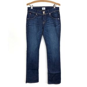NWT Hudson Jeans Beth Baby Boot Leg Dark Wash